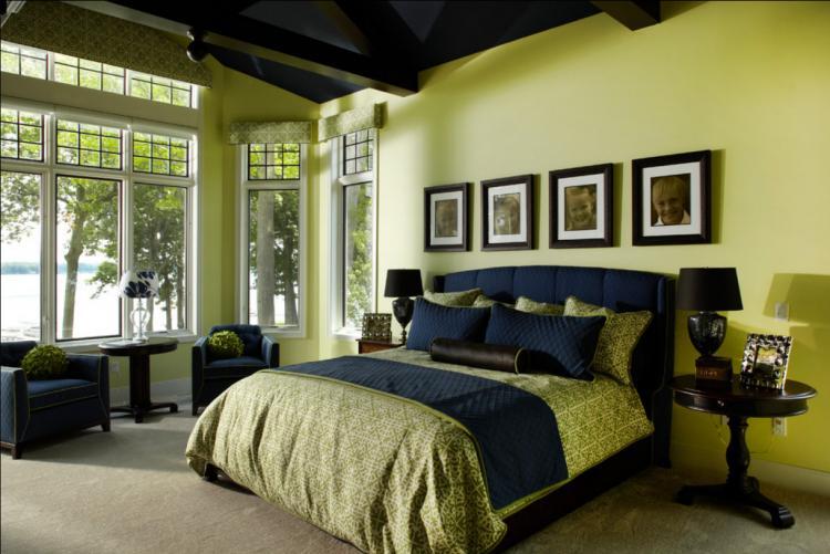 Дизайн интерьера спальни - фото