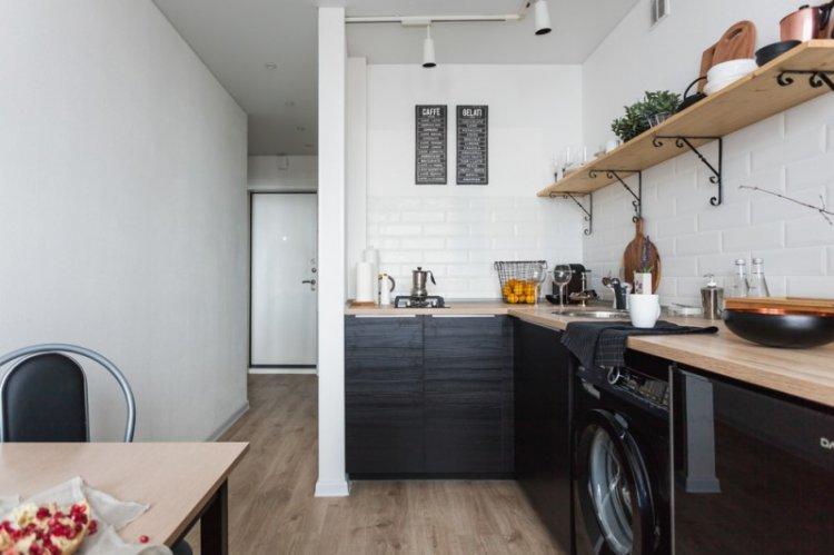 Кухня в скандинавском стиле - дизайн интерьера фото