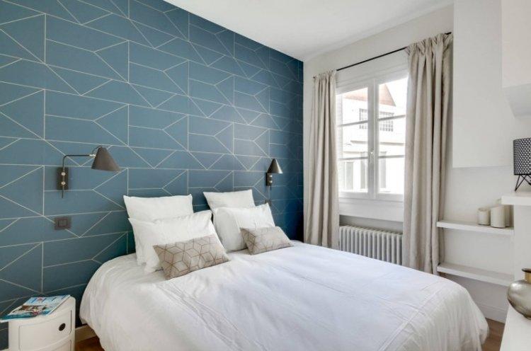 Спальня в скандинавском стиле - дизайн интерьера фото