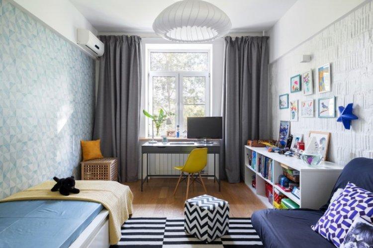Детская комната в скандинавском стиле - дизайн интерьера фото