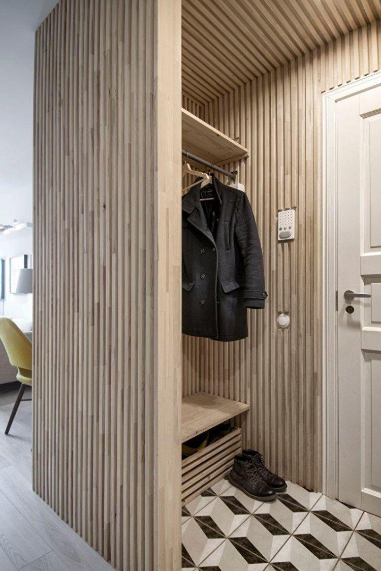 Прихожая и коридор в скандинавском стиле - дизайн интерьера фото