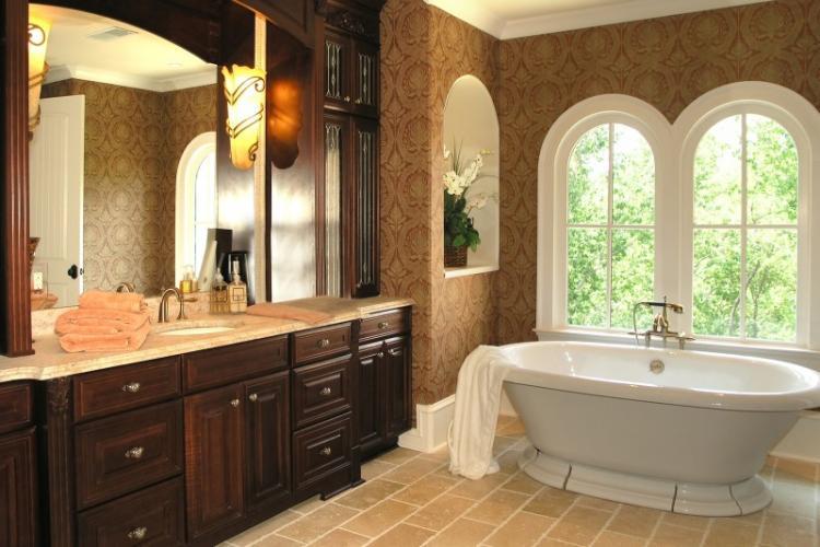 Ванная комната в классическом стиле - Дизайн интерьера