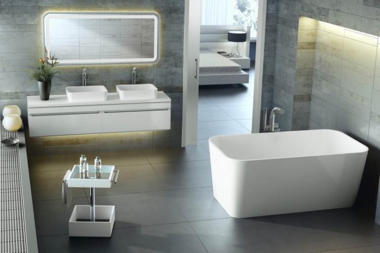 Ванная комната в стиле хай-тек - Дизайн интерьера