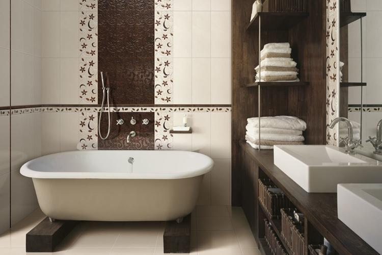 Цветовые решения - Дизайн интерьера ванной комнаты
