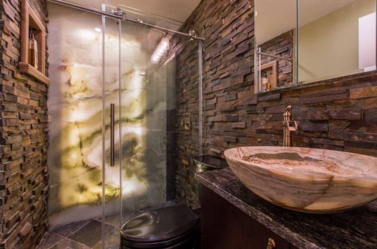 Дизайн интерьера ванной комнаты - фото