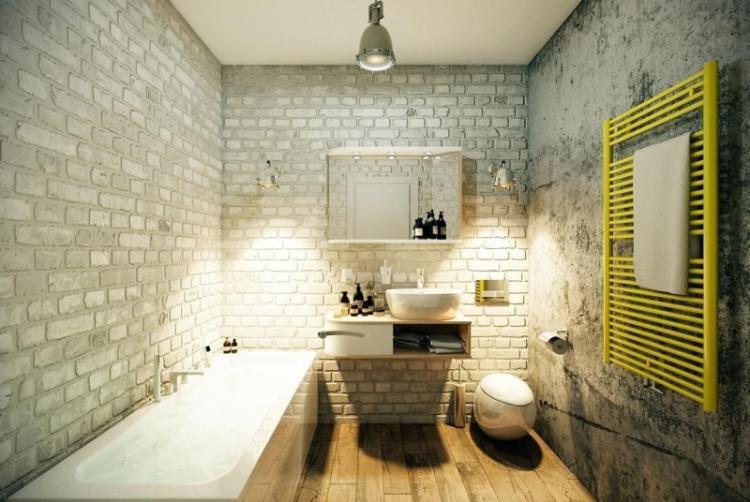 Ванная комната в стиле лофт - Дизайн интерьера