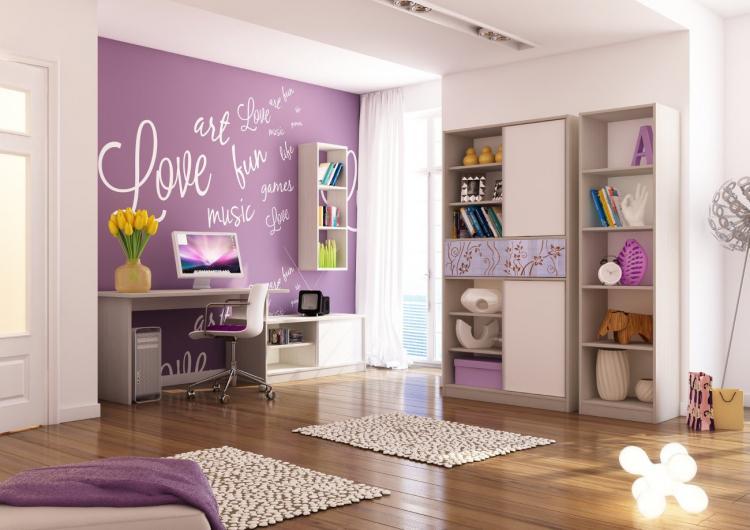 Комната для девочки 13-15 лет - Дизайн комнаты для девочки-подростка