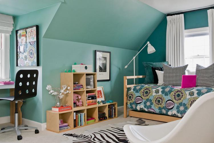 Отделка стен - Дизайн комнаты для девочки-подростка