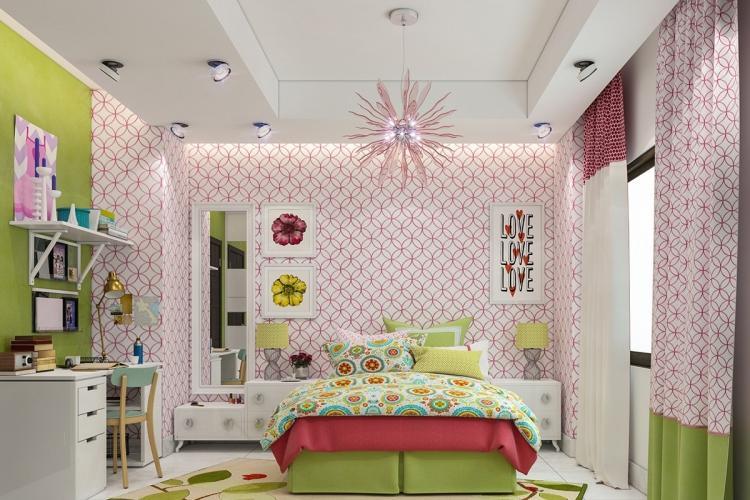 Освещение и подсветка - Дизайн комнаты для девочки-подростка