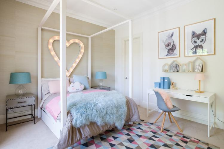Дизайн интерьера комнаты для девочки-подростка - фото реальных интерьеров