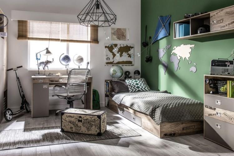 Комната для мальчика-подростка 13-15 лет - Дизайн интерьера