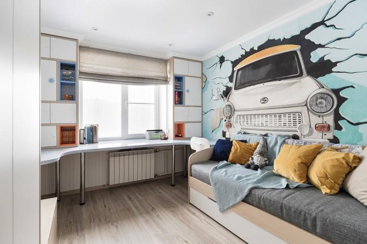 Цветовые решения - Дизайн комнаты для мальчика-подростка