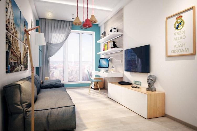 Отделка пола - Дизайн комнаты для мальчика-подростка