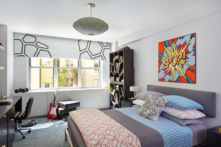 Отделка стен - Дизайн комнаты для мальчика-подростка