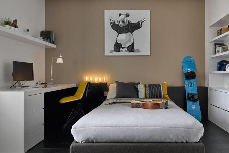 Дизайн маленькой комнаты для мальчика-подростка