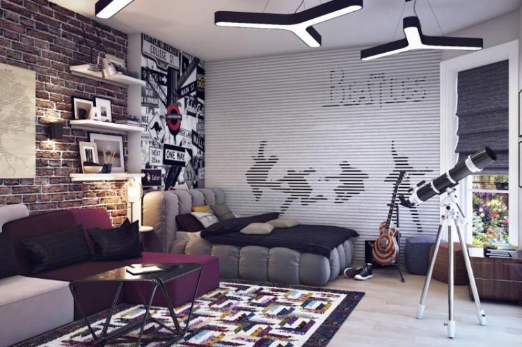 Выбор идеи оформления - Дизайн комнаты для подростка