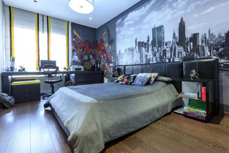 Отделка пола - Дизайн комнаты для подростка