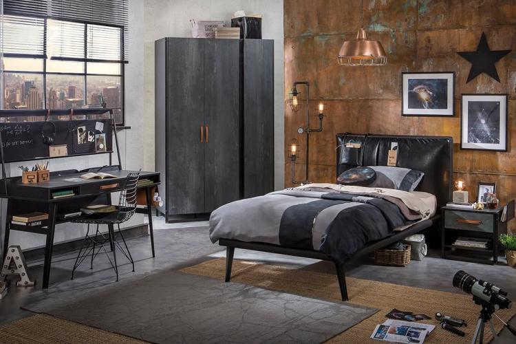 Комната для подростка в стиле гранж - Дизайн интерьера