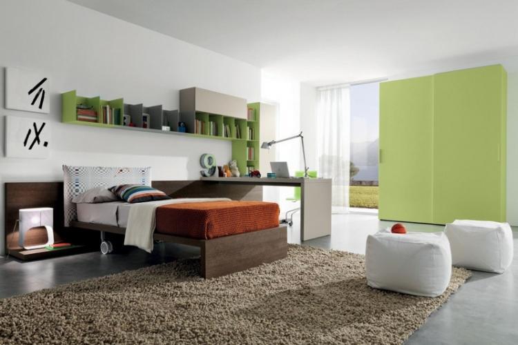Комната для подростка в современном стиле - Дизайн интерьера