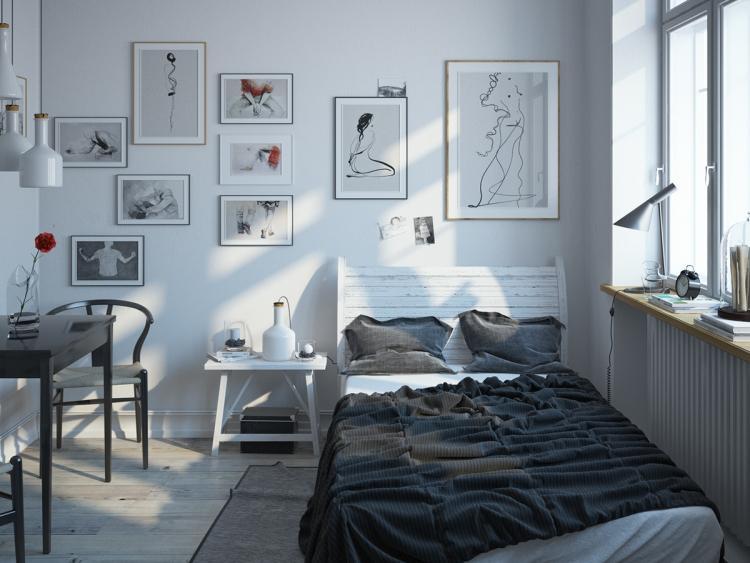 Комната для подростка в скандинавском стиле - Дизайн интерьера