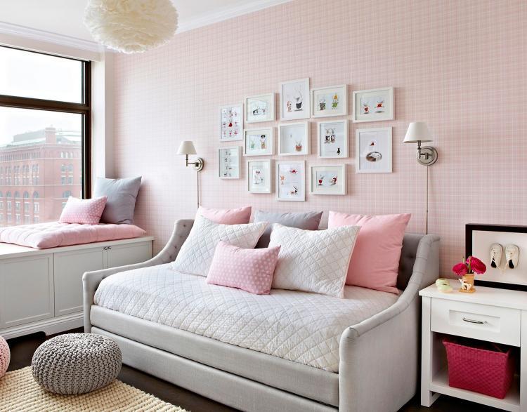 Пастельные оттенки в подростковой комнате - Дизайн интерьера