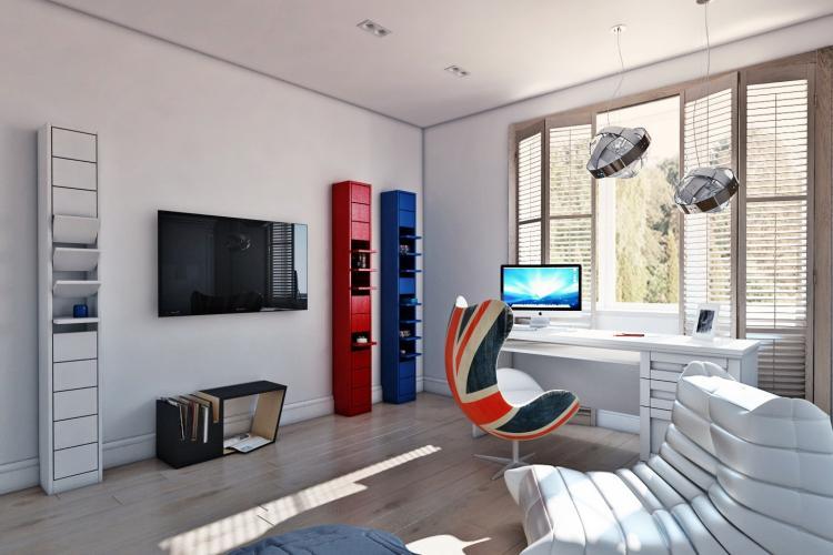 Дизайн комнаты для подростка - фото реальных интерьеров