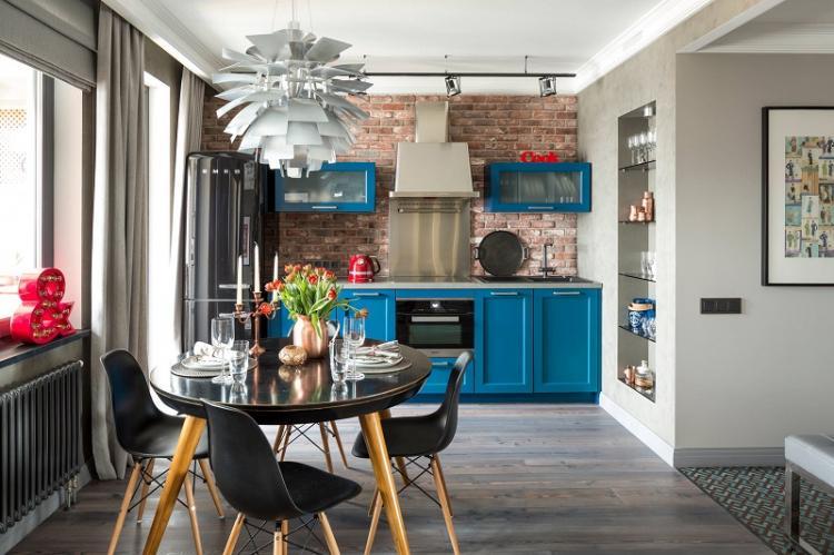 Стили интерьеров - Дизайн кухни 12 кв.м.