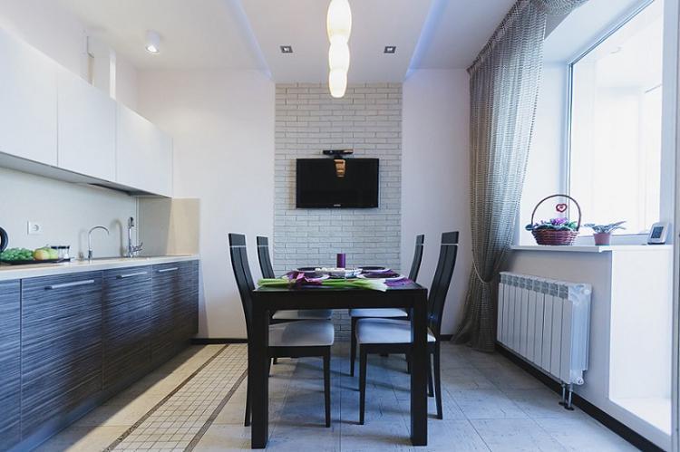 Как расставить мебель - Дизайн кухни 12 кв.м.