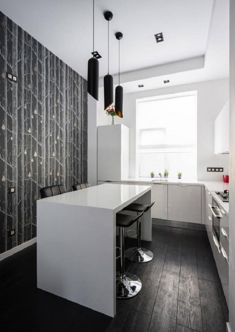 Освещение и подсветка - Дизайн кухни 12 кв.м.