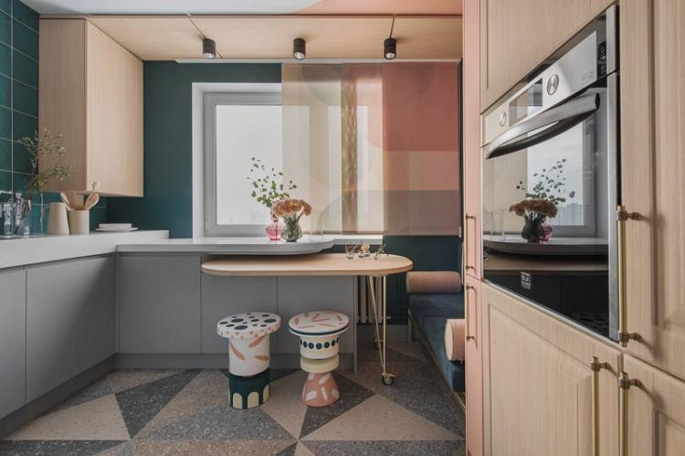 Декор - Дизайн кухни 12 кв.м.