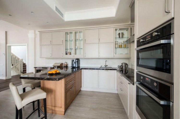Отделка стен - Дизайн кухни 14 кв.м.