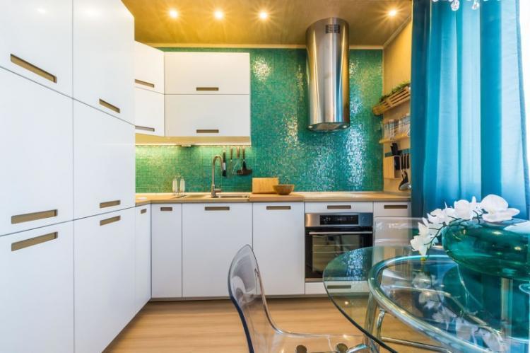 Отделка стен - Дизайн кухни 3 на 4