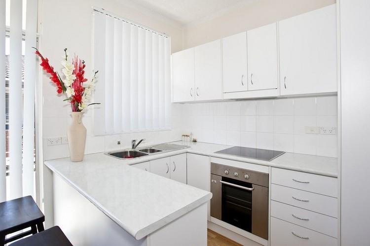 Кухня 6 кв.м. в современном стиле - Дизайн интерьера
