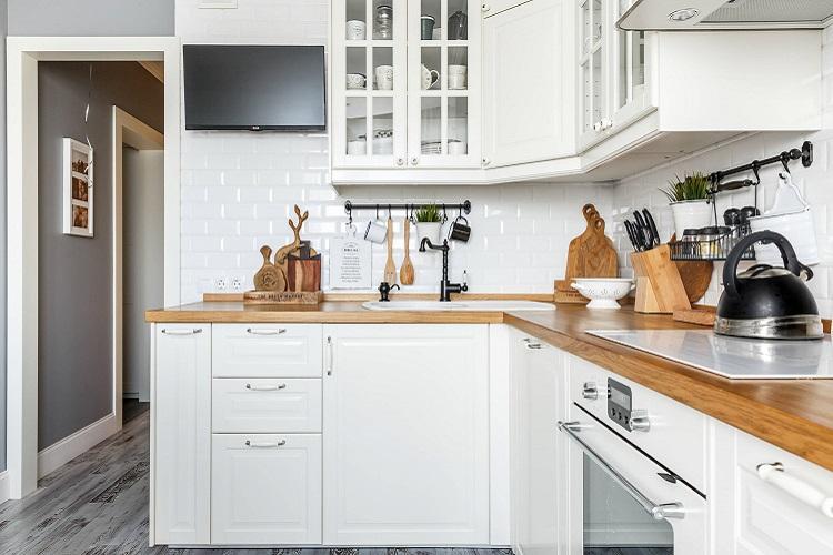 Кухня 6 кв.м. в скандинавском стиле - Дизайн интерьера