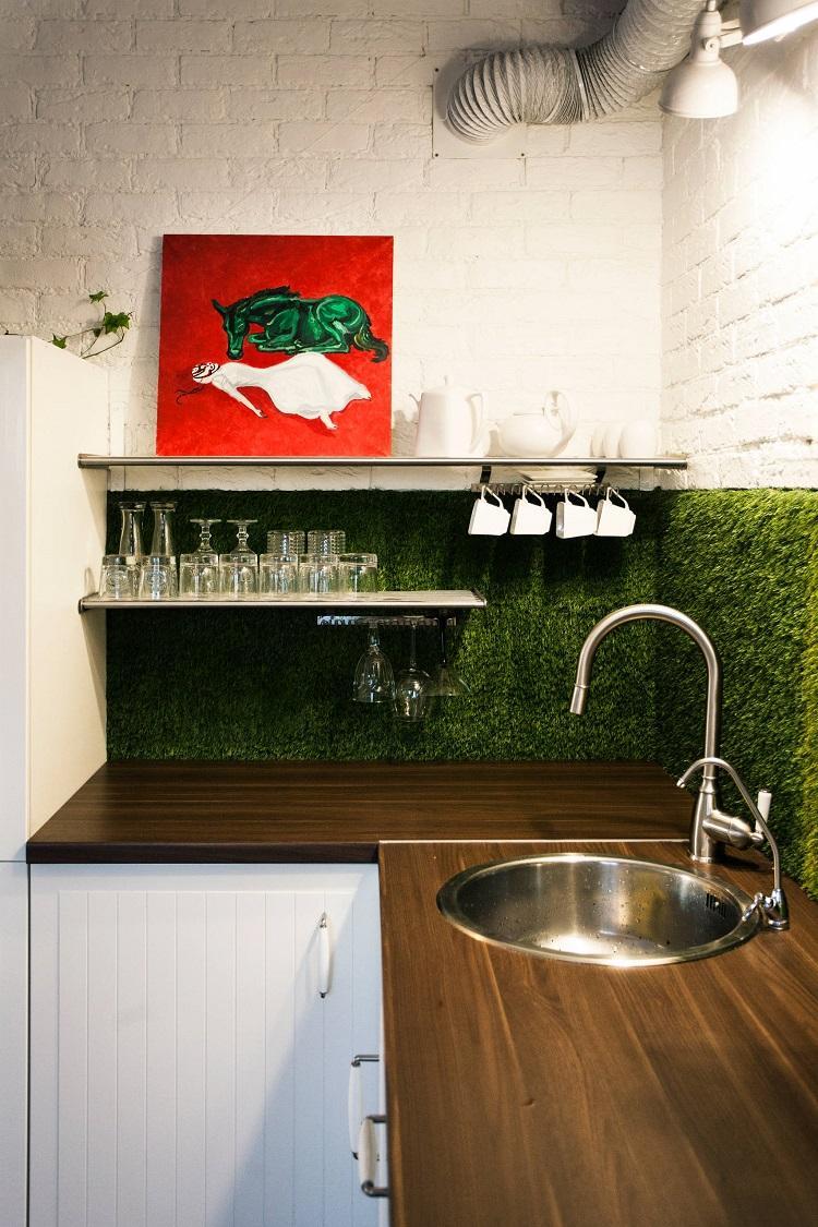 Отделка стен - Дизайн кухни 6 кв.м.