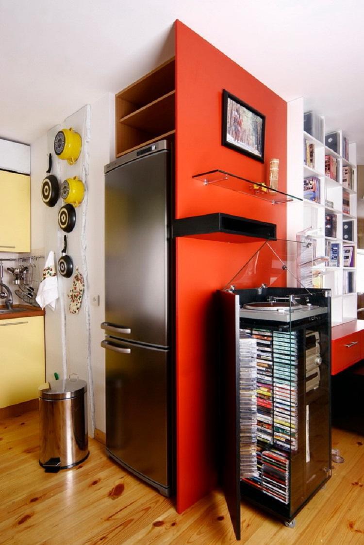 Куда поставить холодильник - Дизайн кухни 6 кв.м.