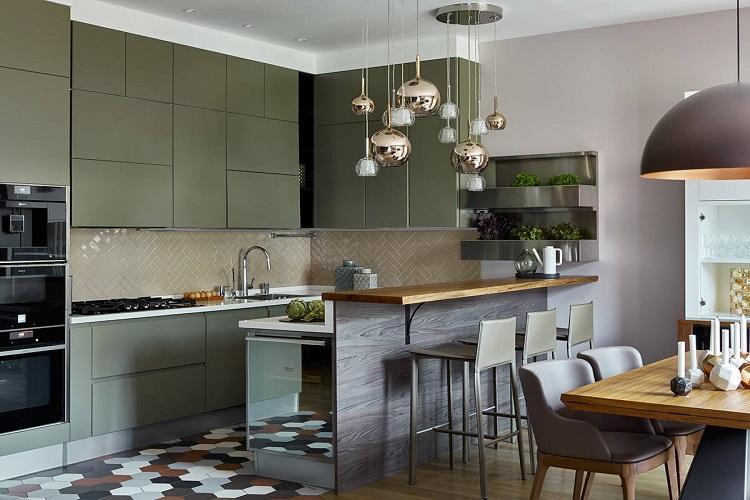 Дизайн кухни 6 кв.м. - фото реальных интерьеров