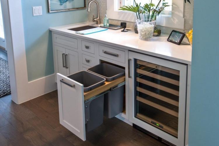 Мебель и техника - Дизайн кухни 7 кв.м.