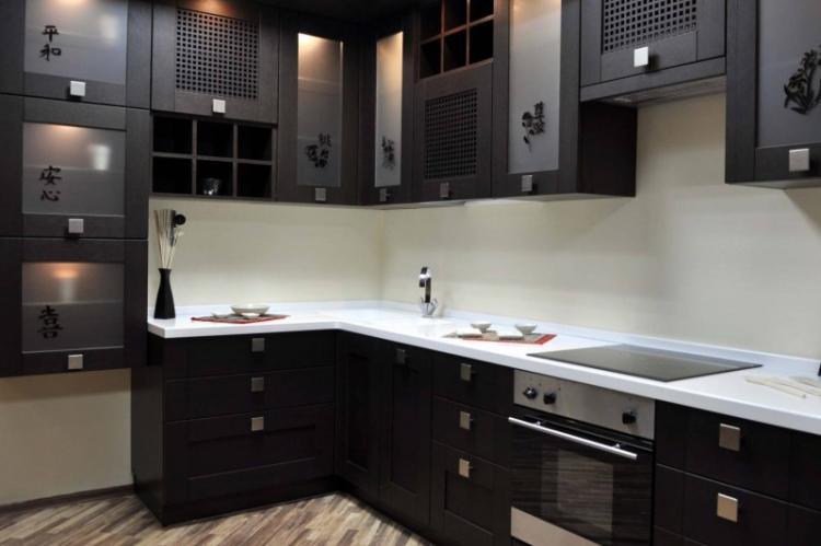 Кухня 8 кв.м. в японском стиле - Дизайн интерьера