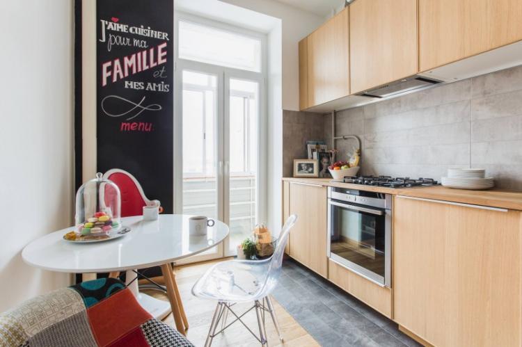 Современный интерьер: дизайн кухни 9 кв.м. (85 фото)