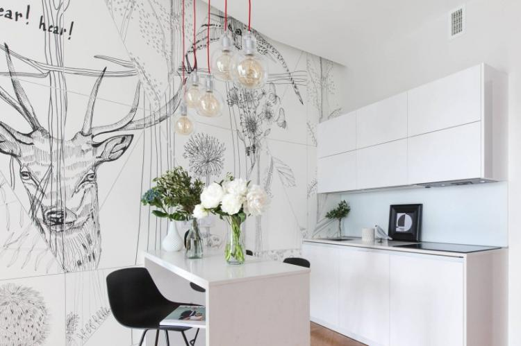 Цвет - Дизайн кухни 9 кв.м.