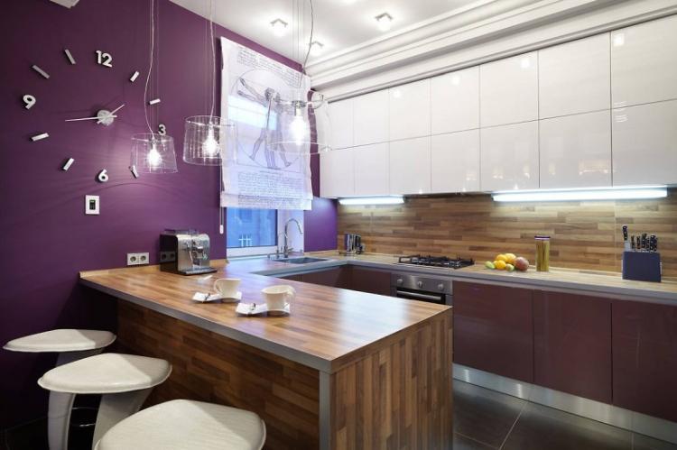 Минималистичные стили - Дизайн кухни 9 кв.м.