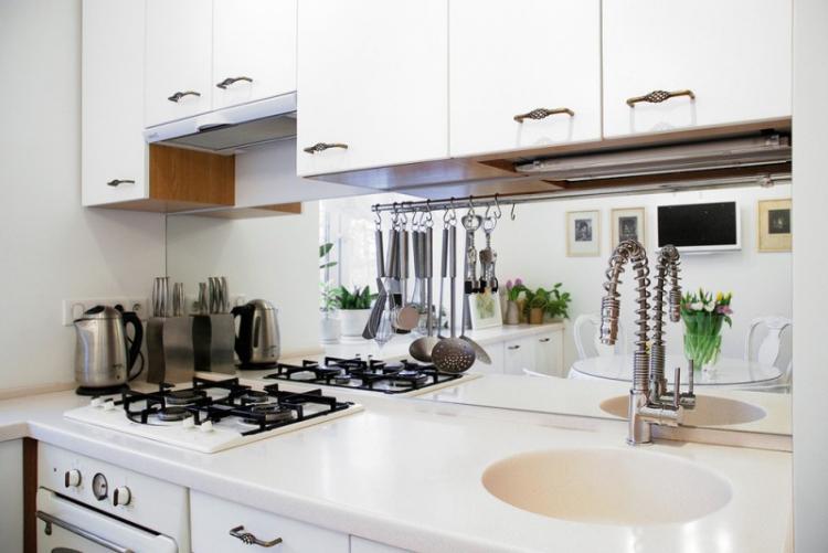 Оформление кухонного фартука - Дизайн кухни 9 кв.м.