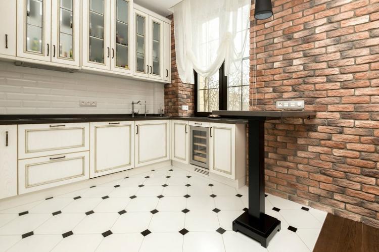 Как визуально увеличить пространство - Дизайн кухни 9 кв.м.
