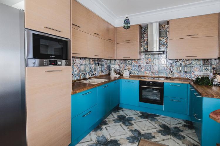 Выбор кухонного гарнитура - Дизайн кухни 9 кв.м.