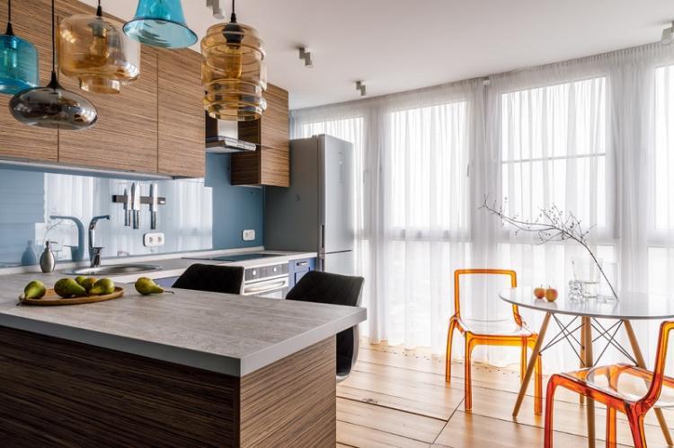 Куда поставить холодильник - Дизайн кухни 9 кв.м.