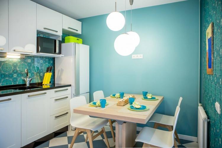 Освещение и подсветка - Дизайн кухни 9 кв.м.