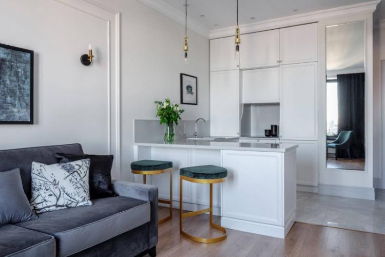 Стили интерьера - Дизайн кухни-гостиной