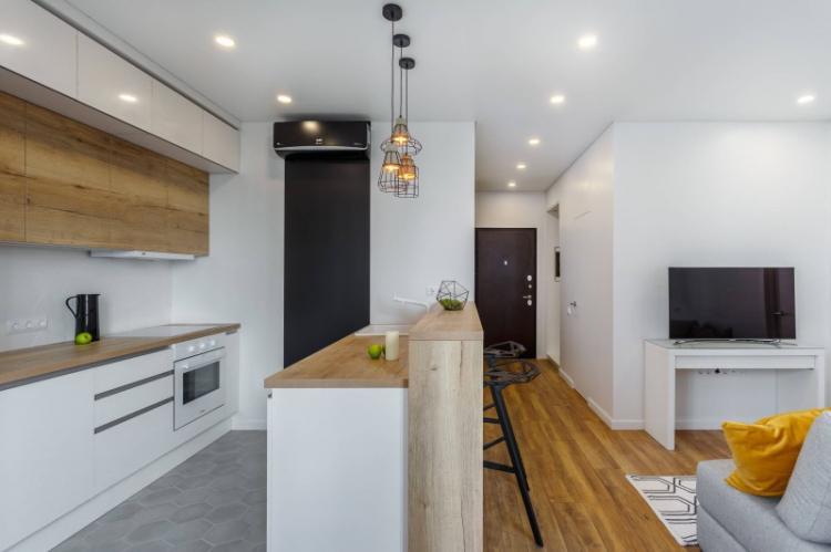 Мебель - Дизайн кухни-гостиной