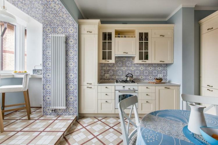 Дизайн кухни, совмещенной с балконом: 75 фото-идей
